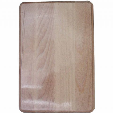 Bevel Edge Large 35cm Natural Wooden Chopping Board 35cm